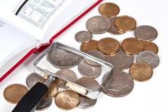 собрание монетки Стоковое Изображение