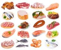 Собрание мяса Стоковая Фотография RF