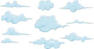 Собрание облака для вас дизайн бесплатная иллюстрация