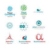 Шарики логоса Стоковое Изображение