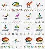 Собрание логотипа компании мега бесплатная иллюстрация