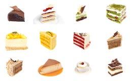 Собрание очень вкусного десерта Стоковое Изображение RF