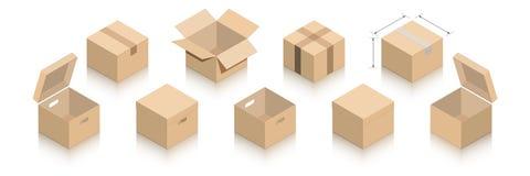 Собрание пакетов с тенью зеркала бесплатная иллюстрация