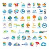 Собрание перемещения логотипов вектора Стоковая Фотография RF