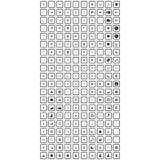 Собрание передвижного значка иллюстрация вектора