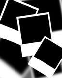 Собрание поляроидных рамок Стоковые Изображения