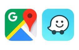 Собрание популярных значков apps навигации стоковые изображения rf