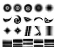 Собрание полутонового изображения Стоковая Фотография RF