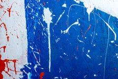 Собрание предпосылок - помарки и пятна краски Стоковые Фотографии RF