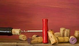 Собрание пробочек вина Стоковая Фотография RF