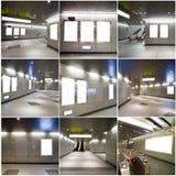 Собрание пустой афиши Стоковые Фотографии RF