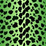 Собрание 4 различных зеленых животных предпосылок печати repeatable леопарда безшовное Вектор EPS 10 бесплатная иллюстрация