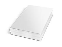 Собрание различной пустой белой книги на белой предпосылке Стоковое Изображение RF