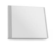 Собрание различной пустой коробки компактного диска белой бумаги Стоковые Изображения