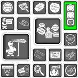 Иконы специального предложения Стоковое Изображение RF