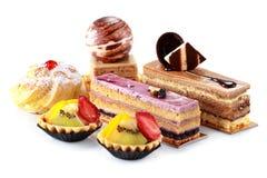 Собрание различных тортов Стоковая Фотография RF