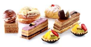 Собрание различных тортов Стоковые Изображения RF