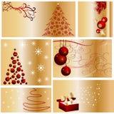 собрание рождества веселое Стоковое Изображение RF