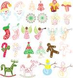 собрание рождества Стоковые Фотографии RF