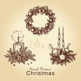 собрание рождества Стоковое Изображение