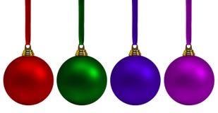 собрание рождества bauble Стоковая Фотография