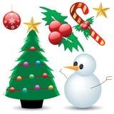 собрание рождества Стоковые Изображения