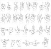 Собрание руки Стоковая Фотография RF