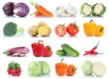 Собрание салата fr морковей томатов болгарского перца овощей Стоковое Изображение RF