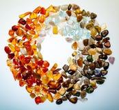Собрание самоцветных камней Стоковое фото RF