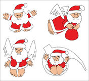Собрание Санта Клауса Стоковая Фотография RF
