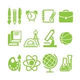 Собрание символа школы образования Стоковая Фотография