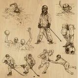 Собрание спорта никакое 8 - иллюстрации нарисованные рукой иллюстрация штока