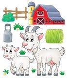 Собрание 1 темы козы бесплатная иллюстрация