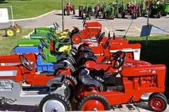 Собрание тракторов педали Стоковые Изображения
