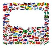 Собрание флагов Стоковая Фотография RF