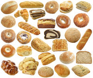 Собрание хлеба стоковые фото