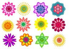 Собрание цветка Стоковые Изображения RF