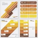 Собрание шаблона знамен номера дизайна чистого вектор Стоковое Изображение