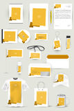 Собрание элементов дизайна для дела, рекламы или визуализирования фирменного стиля Стоковая Фотография
