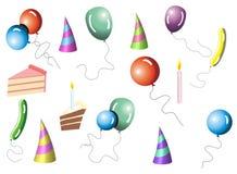 собрание ballons бесплатная иллюстрация
