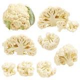 собрание cauliflower стоковые изображения