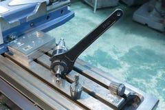 Собрание CNC инструмента замка ключа филируя Стоковые Изображения RF