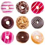 Собрание Donuts Стоковые Фотографии RF