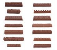 Собрание i шоколада Стоковые Фотографии RF