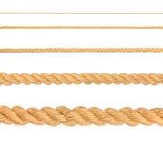 собрание ropes различное Стоковое фото RF