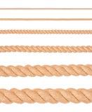 собрание ropes различное Стоковые Изображения