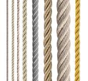 собрание ropes различное Стоковая Фотография RF