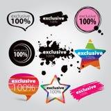 Иконы исключительные Стоковая Фотография RF