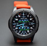 Собрание Watchface для wear& андроида tizen Стоковое Изображение