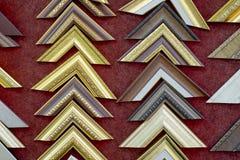 Собрания рамок фото угловые Стоковые Изображения